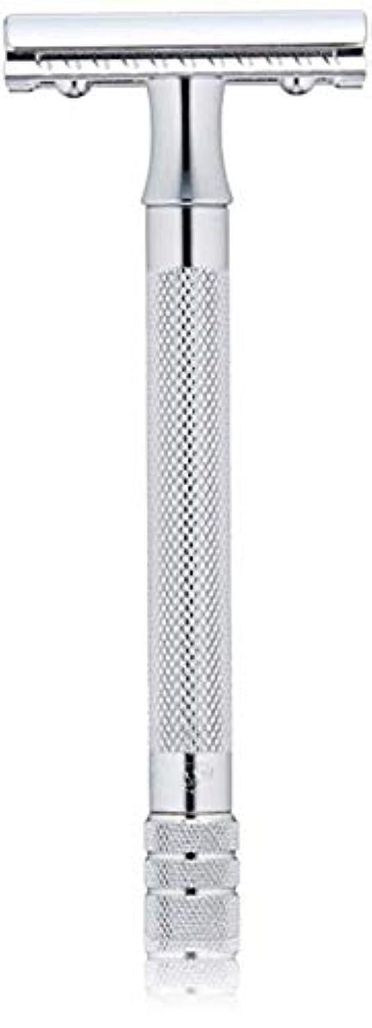 説得不安定小麦粉メルクール MERKUR (独) 髭剃り MK-23C(ひげそり) 両刃ホルダー (替刃1枚付) [並行輸入品]