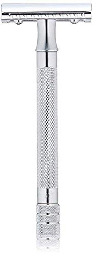 自動エキスパートクッションメルクール MERKUR (独) 髭剃り MK-23C(ひげそり) 両刃ホルダー (替刃1枚付) [並行輸入品]
