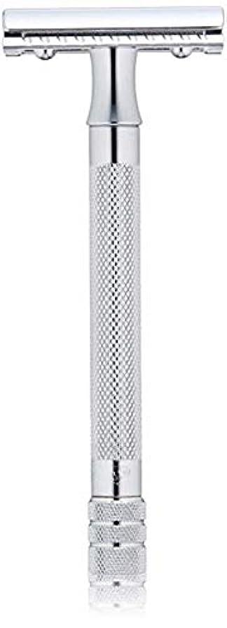 形容詞尊敬認証メルクール MERKUR (独) 髭剃り MK-23C(ひげそり) 両刃ホルダー (替刃1枚付) [並行輸入品]