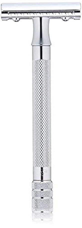文明化する模倣達成するメルクール MERKUR (独) 髭剃り MK-23C(ひげそり) 両刃ホルダー (替刃1枚付) [並行輸入品]