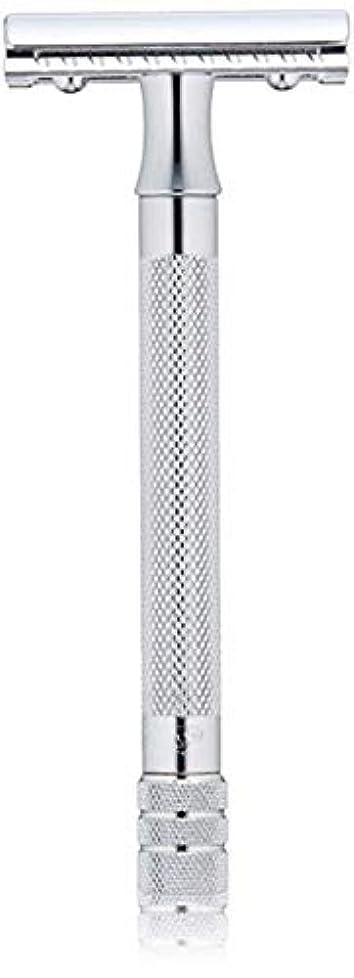 にんじんケープ付き添い人メルクール MERKUR (独) 髭剃り MK-23C(ひげそり) 両刃ホルダー (替刃1枚付) [並行輸入品]