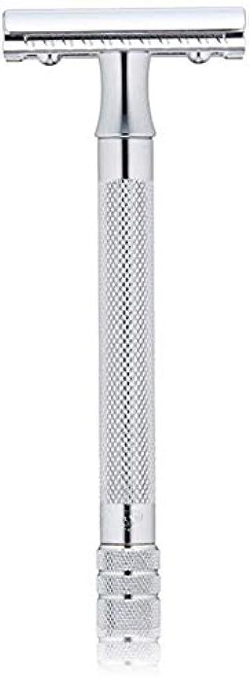 クルーズストレージ渦メルクール MERKUR (独) 髭剃り MK-23C(ひげそり) 両刃ホルダー (替刃1枚付) [並行輸入品]