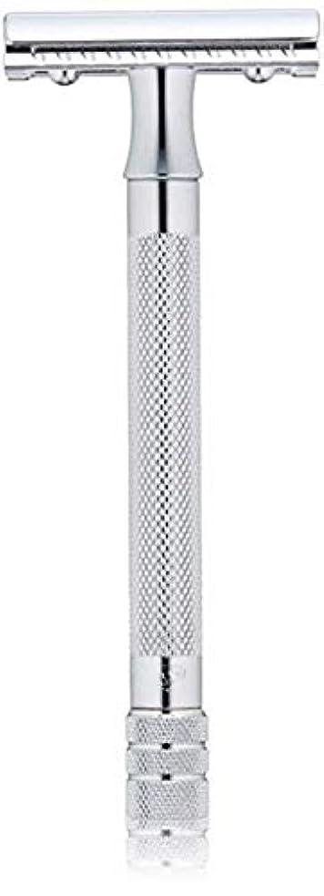 胴体安定した白鳥メルクール MERKUR (独) 髭剃り MK-23C(ひげそり) 両刃ホルダー (替刃1枚付) [並行輸入品]