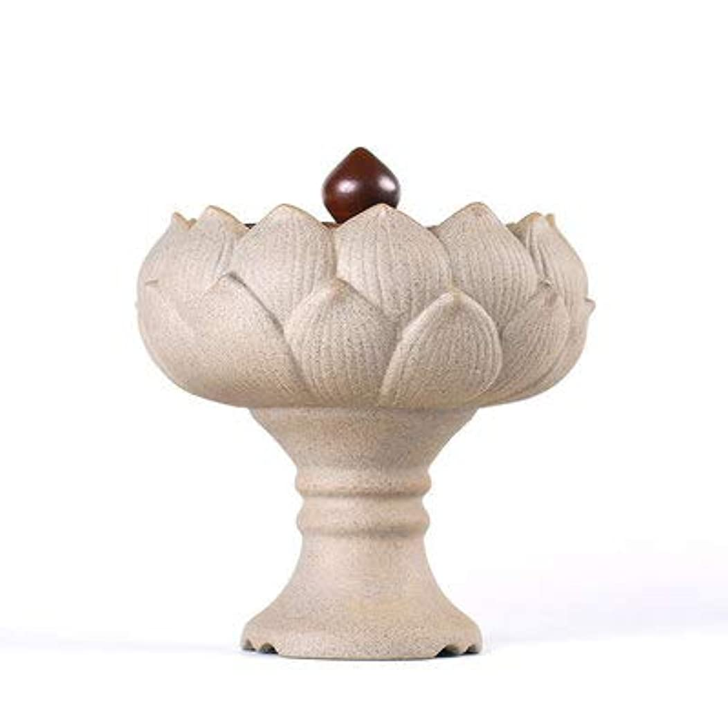 シャンパンフレキシブルPHILOGOD 香炉 陶器ロータススタイリング線香 香立て 香皿