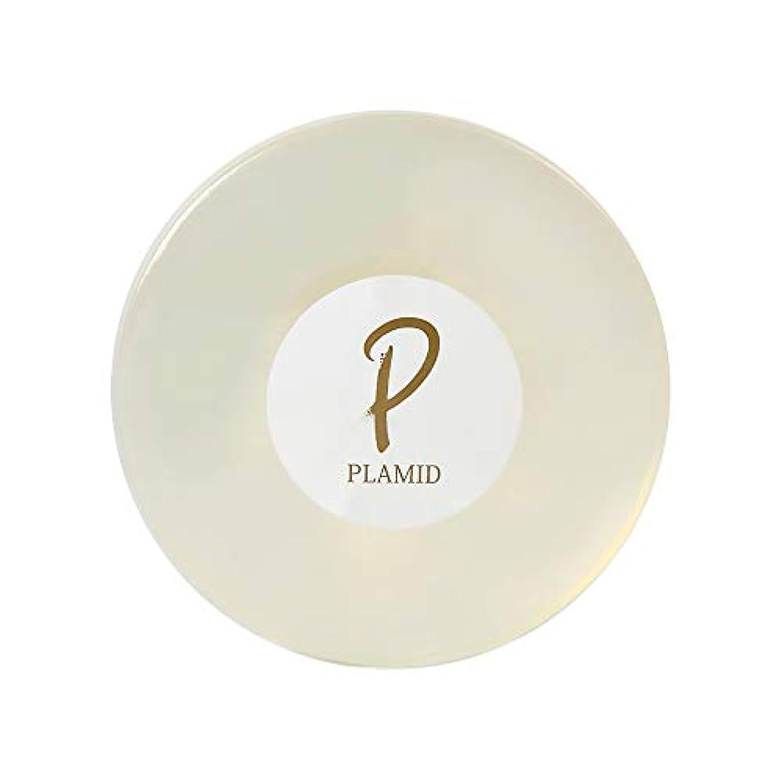 高尚な悲観主義者葉を集めるPLAMID プラミドクリスタルソープ(90g)馬プラセンタ配合 透明洗顔石鹸 ROTTS ロッツ