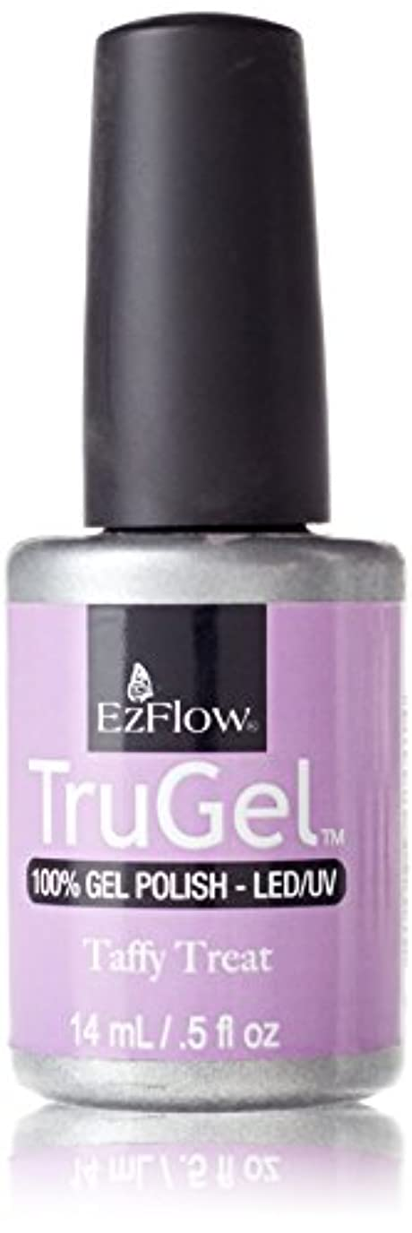 先に逆とは異なりEzFlow トゥルージェル カラージェル EZ-42441 タフィートリート 14ml