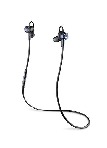 【国内正規品】PLANTRONICS Bluetooth ワイヤレスヘッドセット(ステレオイヤホンタイプ) BackBeat GO3 コバルトブラック 充電ケース付モデル BACKBEATGO3-CB-C