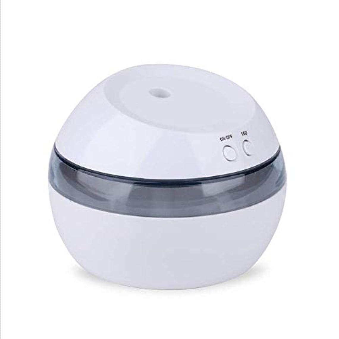 倫理コードスペイン語SOTCE アロマディフューザー加湿器超音波霧化技術エッセンシャルオイル電気アロマセラピー満足のいく解決策 (Color : White)
