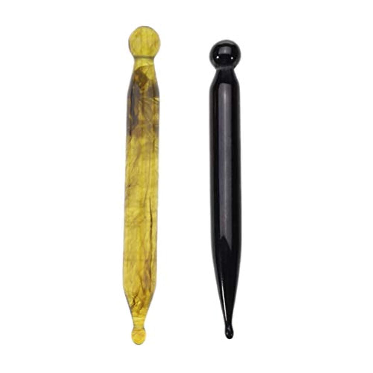 変色する質量成人期D DOLITY 2本 マッサージペン ツボ押しグッズ