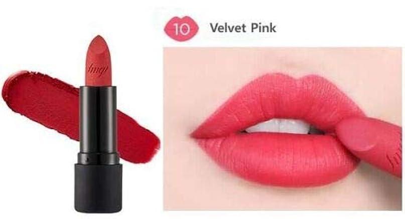 [ザ?フェイスショップ] THE FACE SHOP [ルージュ トゥルー マット 3.6g] Rouge True Matte 3.6g [海外直送品] (#10. Velvet Pink)