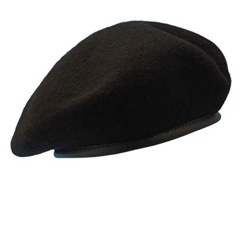 ベレー帽 ブラックベレー 帽子 エクスペンダブルズ SWAT スワット ゲバラ 特殊部隊 サバゲー 帽 ベレー キャップ 黒 XL