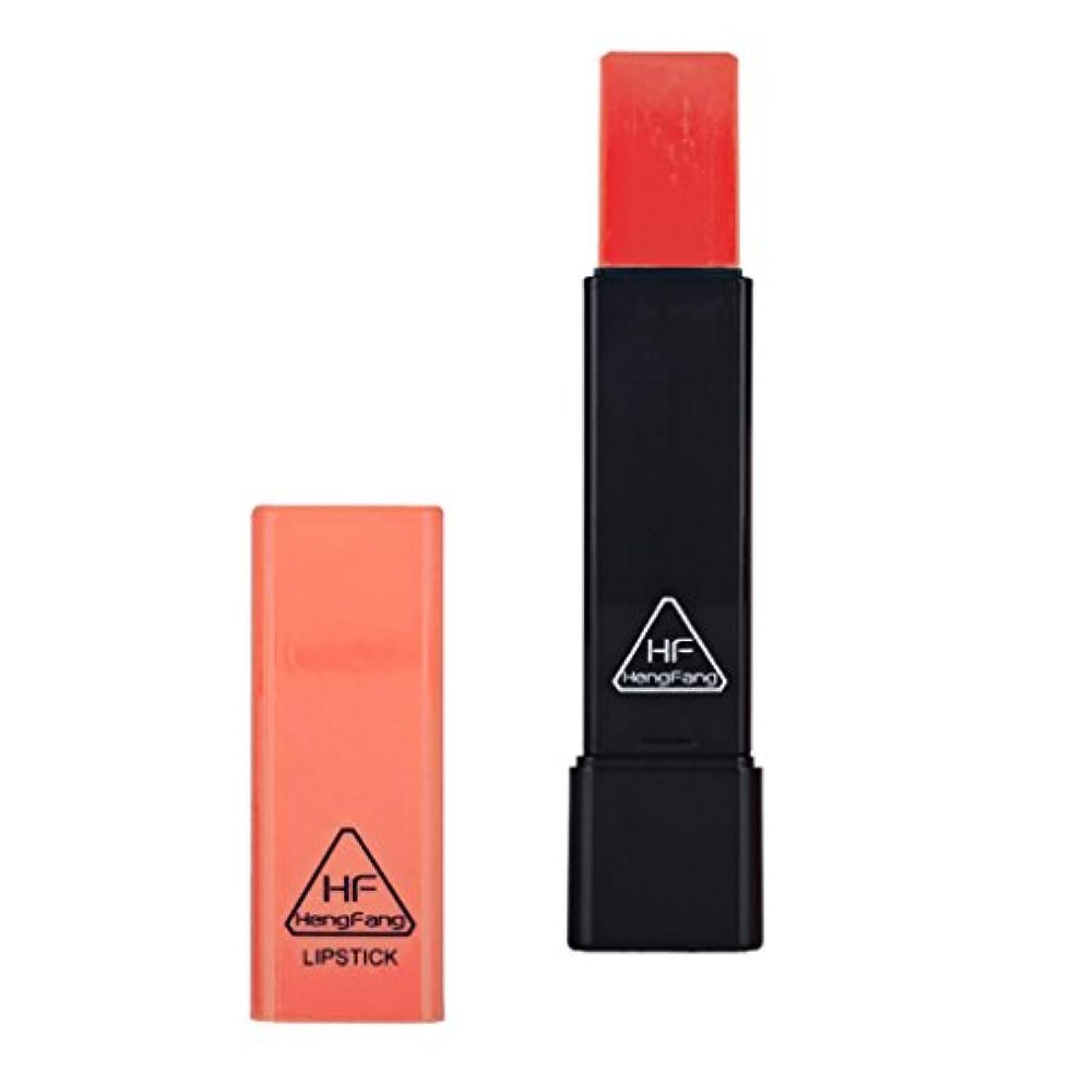 燃やす優雅強化するリップスティック リップグロス トライアングル 口紅 ナチュラル 長持ち 保湿 6色選べ - グレープフルーツ