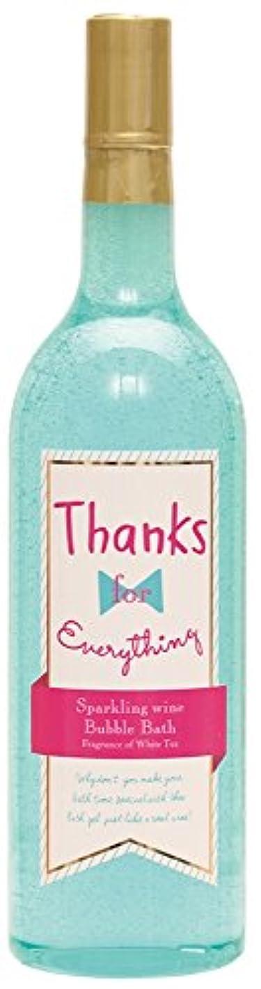 意気揚々振る舞う違うノルコーポレーション 入浴剤 バブルバス スパークリングワイン 大容量 810ml ホワイトティーの香り OB-WIB-5-2
