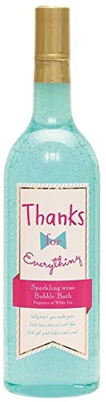 メナジェリー溶ける増幅器ノルコーポレーション 入浴剤 バブルバス スパークリングワイン 大容量 810ml ホワイトティーの香り OB-WIB-5-2