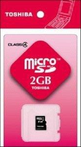 マイクロSDカード2G SDーME002GS
