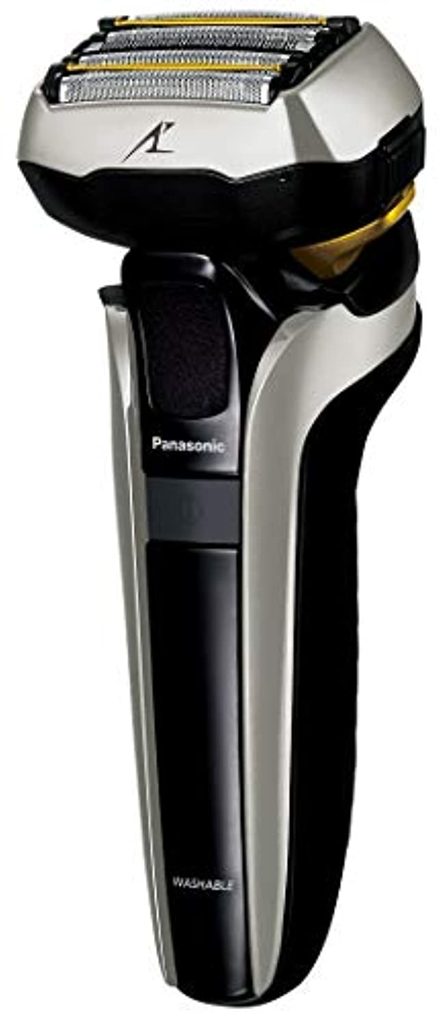 空気無心スケッチパナソニック ラムダッシュ メンズシェーバー 5枚刃 シルバー調 ES-CLV9DX-S