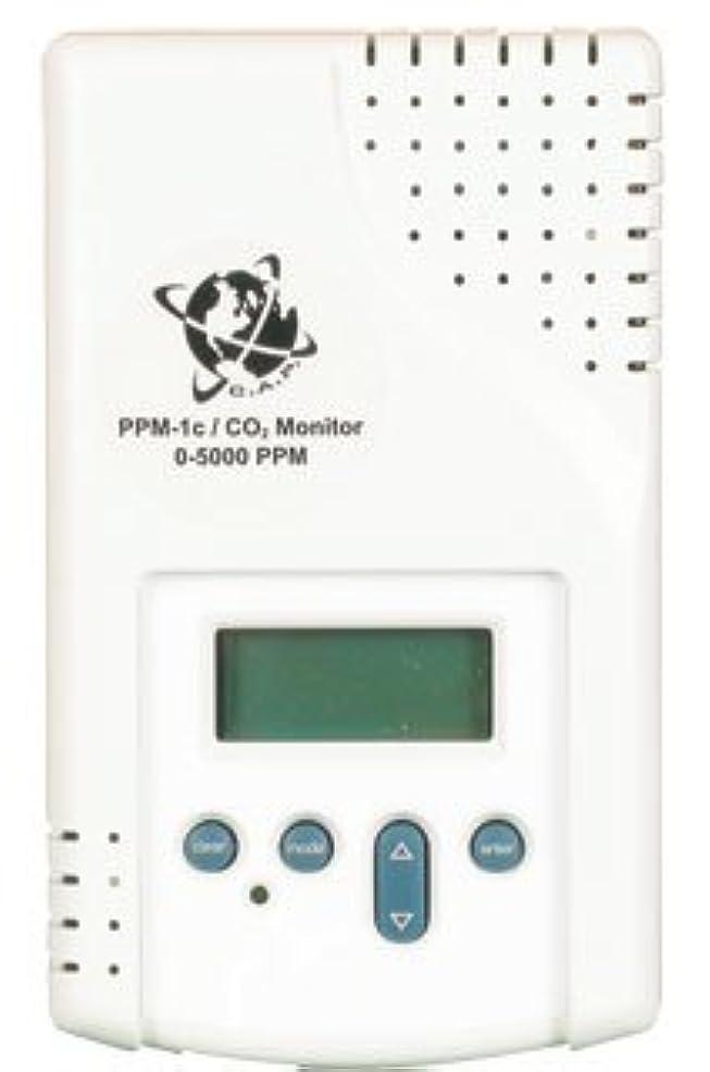 カイウスできない排気co2 PPMモニタ、Complete w / PPMセンサー