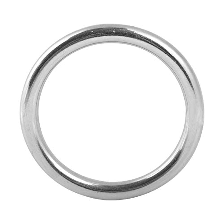 Oリング 304 ステンレス鋼 溶接Oリング Oラウンドリング ステンレスOリング リング径 5mm ダイビングペットアクセサリー