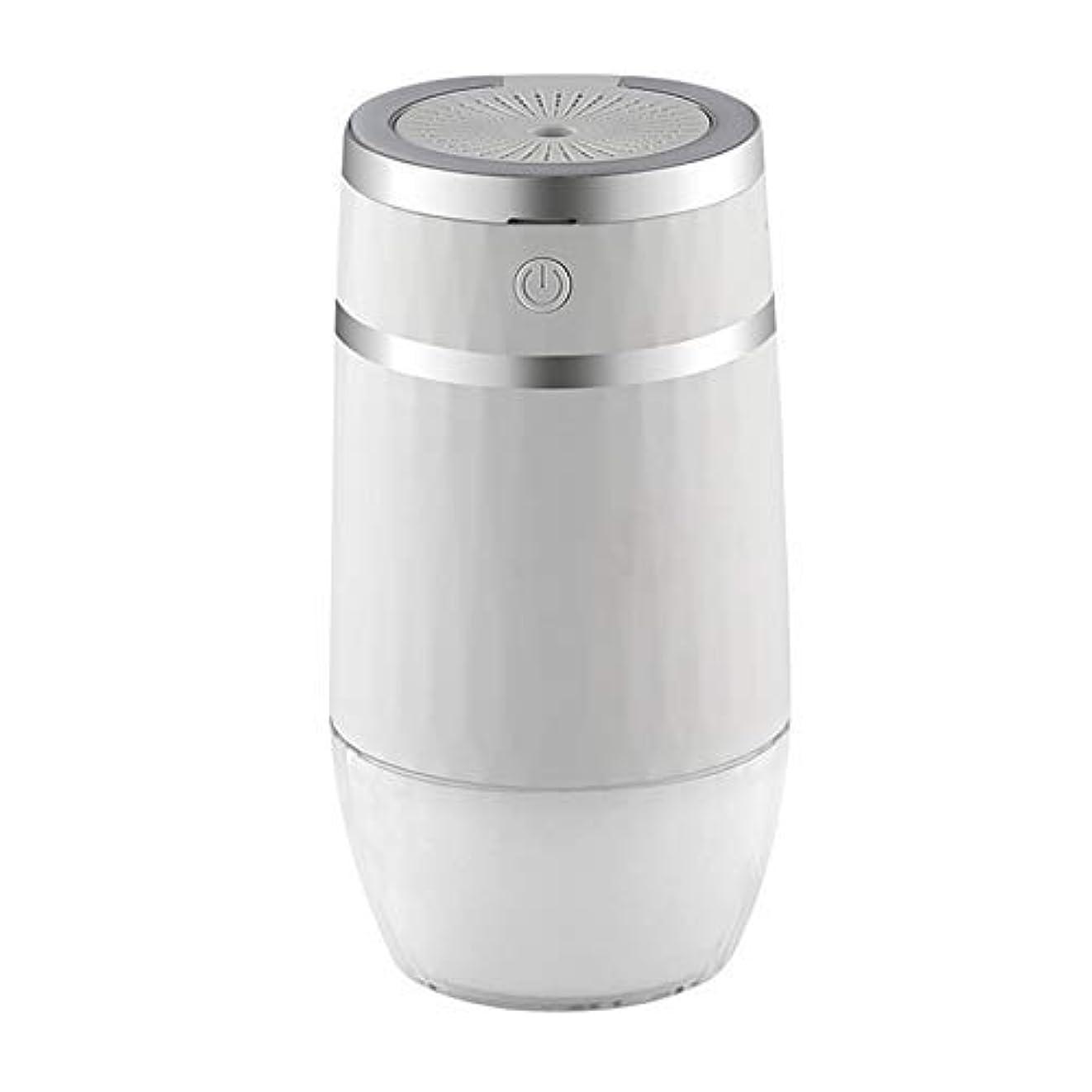国籍コンパイルオーバーランZT-TTHG ホームオフィスの車ホワイト用LEDナイトランプファンのアロマエッセンシャルオイルディフューザーUSB噴霧器ミストメーカーで300MLエア加湿器
