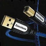 ゾノトーン ピュアオーディオグレードUSBケーブル(1.2m)6N・USBグランディオZonotone 6N・USB-Grandio 2.0-1.2M