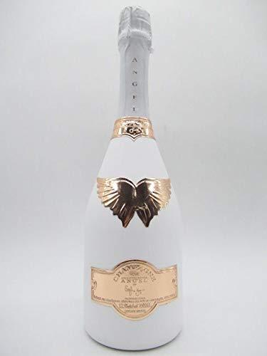 [箱なし] エンジェル シャンパン ロゼ ホワイトボトル 箱なし 750ml [並行輸入品]