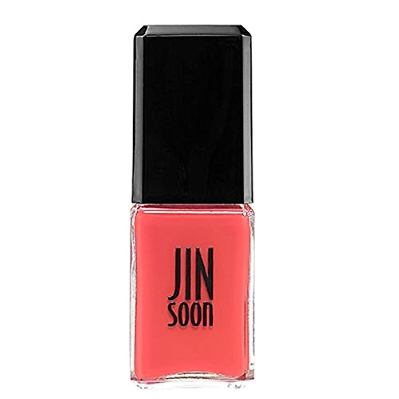 [ジンスーン] [ jinsoon] コーラルピオニー (ホット コーラルピンク)CORAL PEONY ジンスーン 5フリー ネイルポリッシュ ピンク 11mL