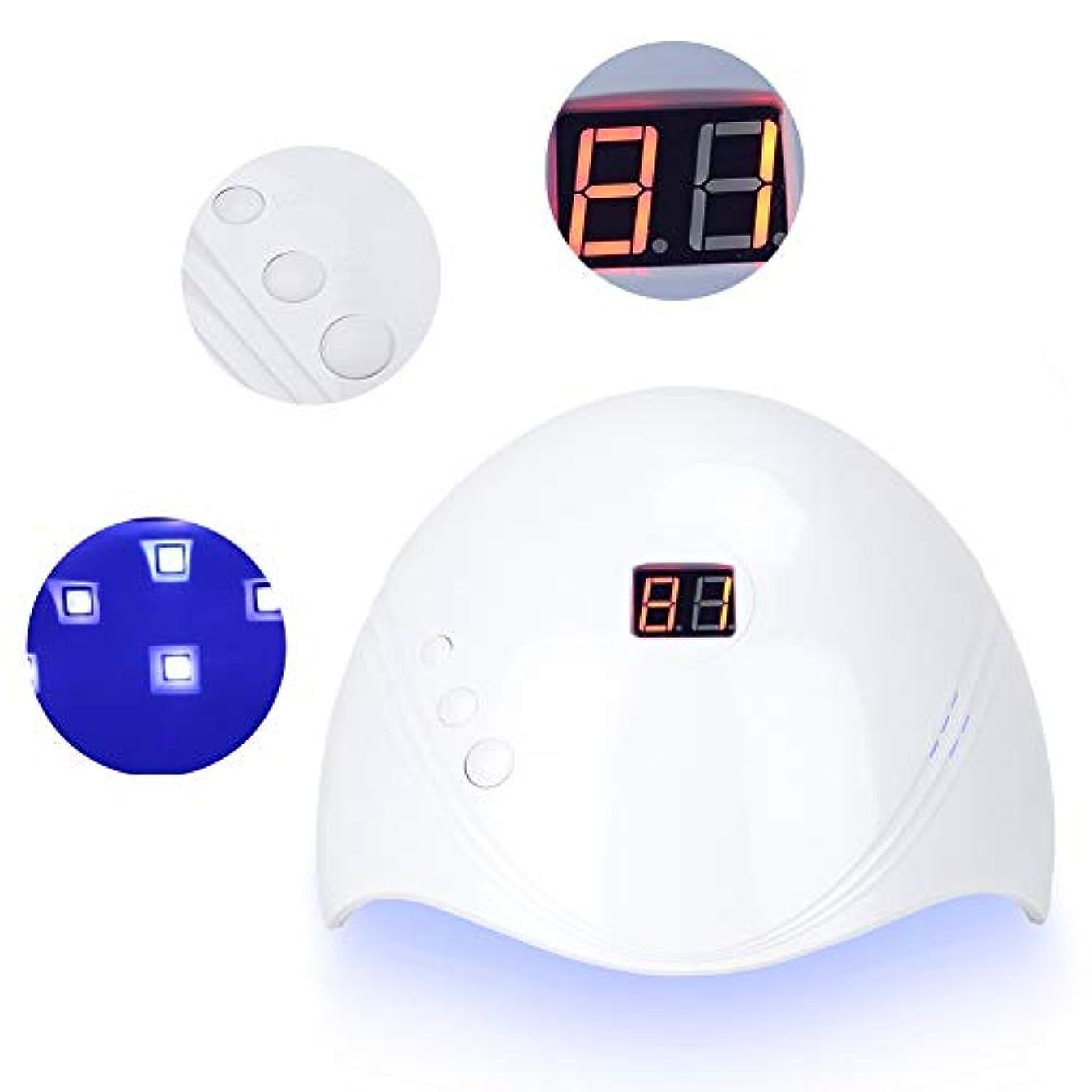 オンス内向きモンクUV LEDネイルランプ、プロフェッショナル36WネイルアートLEDランプドライヤージェルポリッシュ硬化マニキュア