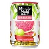 コカ・コーラ社 ミニッツメイド ピンク・グレープフルーツ・ブレンド缶280g1箱24本