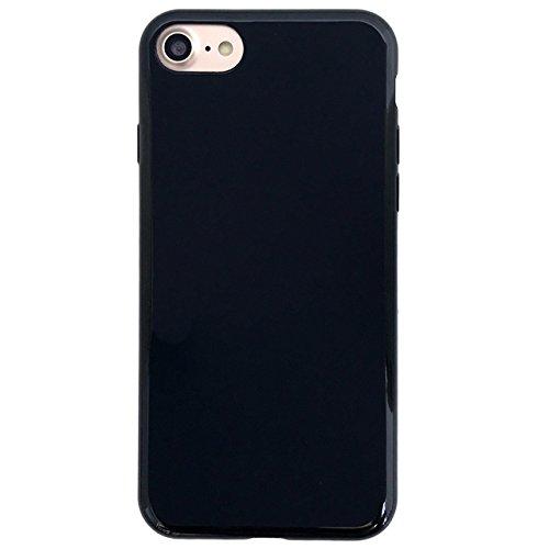 iphone8 / iphone7 【 黒TPU 】 ソフト...