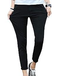 JHIJSC チノパン メンズ ロングパンツ 9分丈 ズボン ストレッチ スキニー 無地 スリム カラーパンツ 大きいサイズ