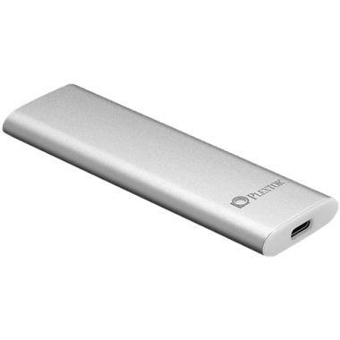 PLEXTOR 最大転送速度10Gbps対応 USB 3.1 Gen2 接続 ポータブルSSD EX1 Plus 128GB