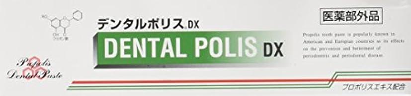 あいまい熱心な添加剤デンタルポリスDX  80g   3本セット   医薬部外品  歯みがき