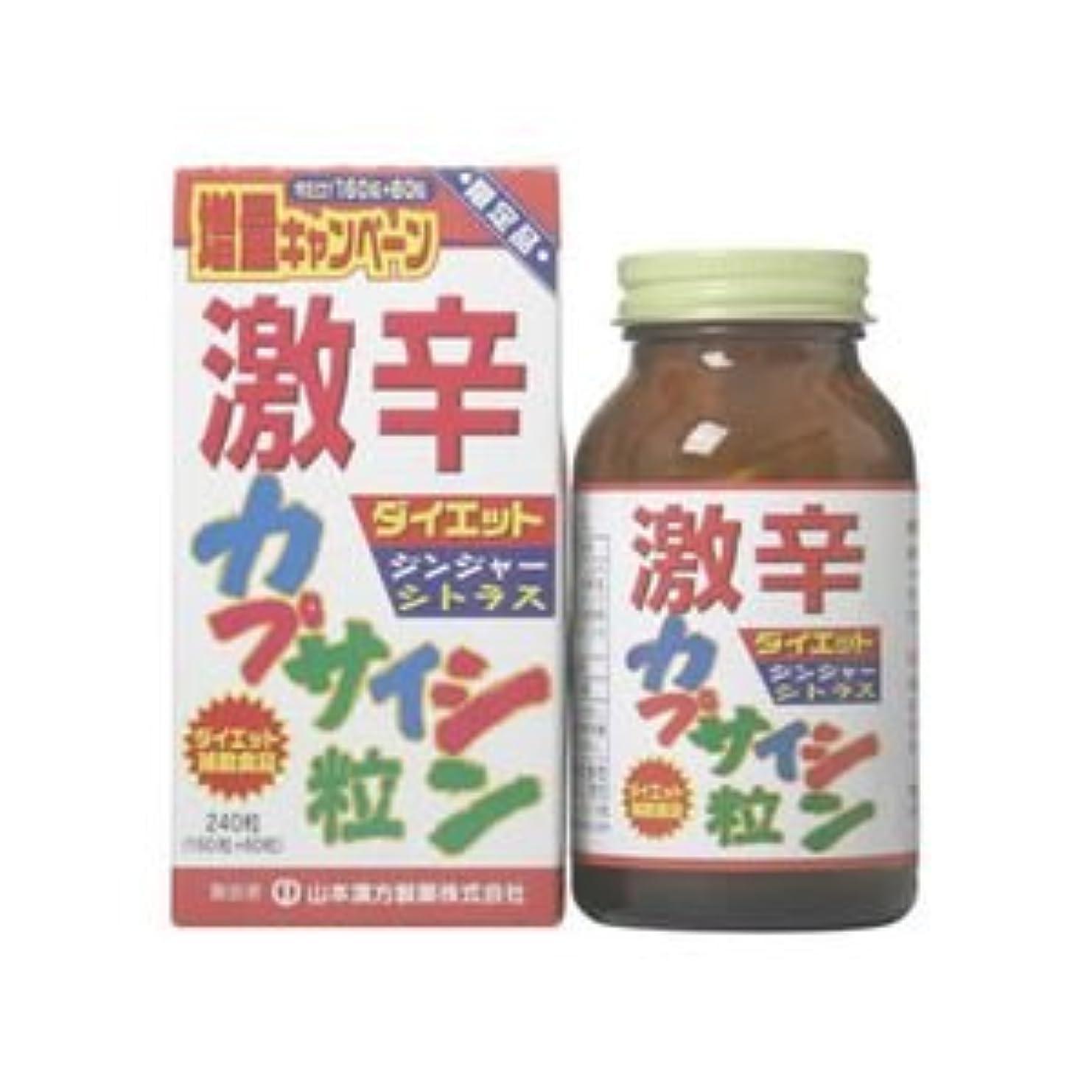 ボリューム田舎食品激辛カプサイシン粒 240粒