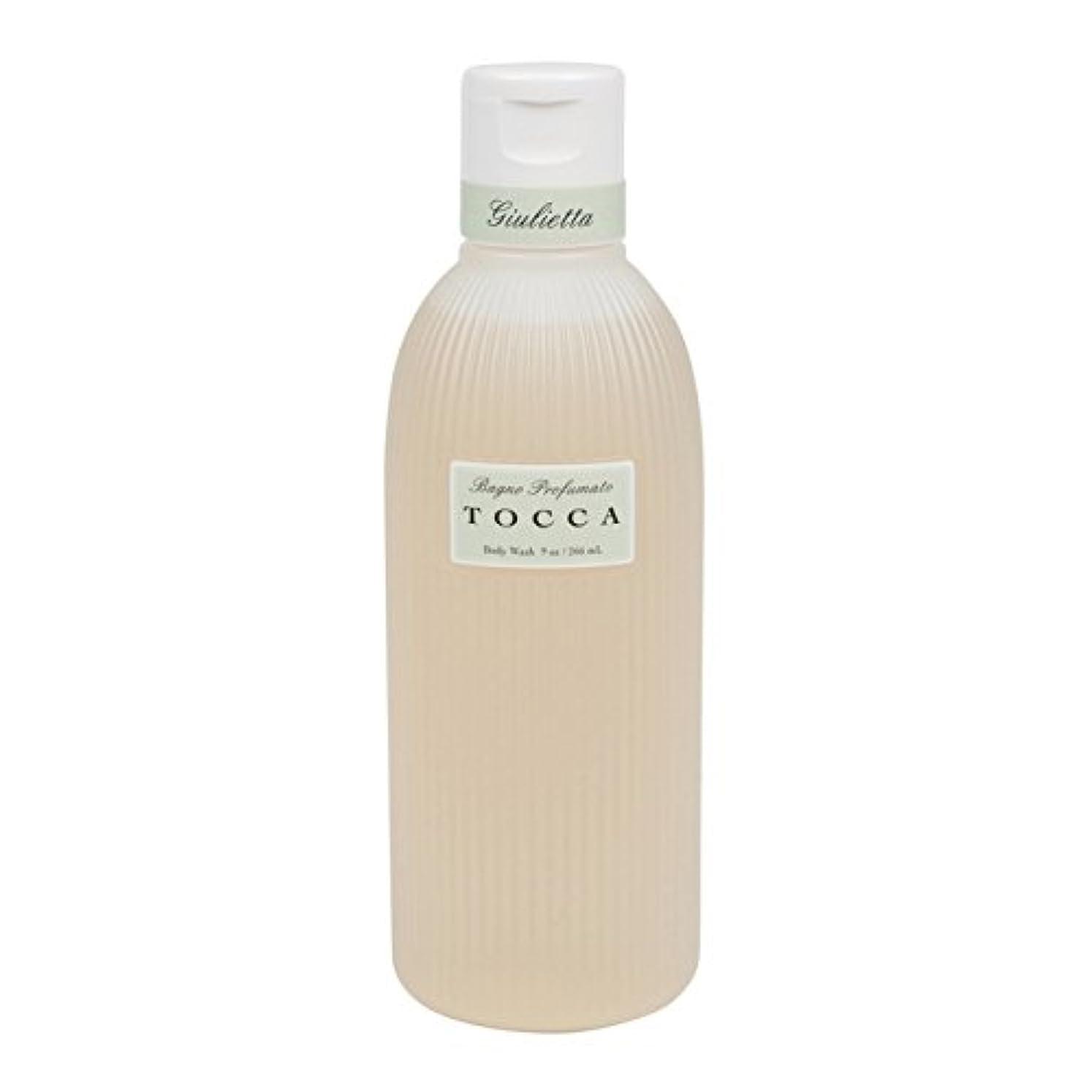 グラフィックおとなしい電信トッカ(TOCCA) ボディーケアウォッシュ ジュリエッタの香り  266ml(全身用洗浄料 ボディーソープ ピンクチューリップとグリーンアップルの爽やかで甘い香り)