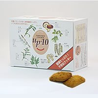 【ホートク食品】10種の穀物クッキー「不老仙クッキー」 (40袋入・約2週間分)
