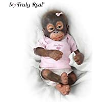Wendy Dickison Little Umi Orangutan Doll: Collectible Monkey Doll by Ashton Drake ドール 人形 フィギュア(並行輸入)