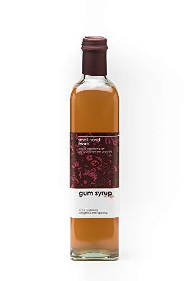 サポート飛ぶ非難SMALL HAND FOODS Gum Syrup 500 ml [並行輸入品]