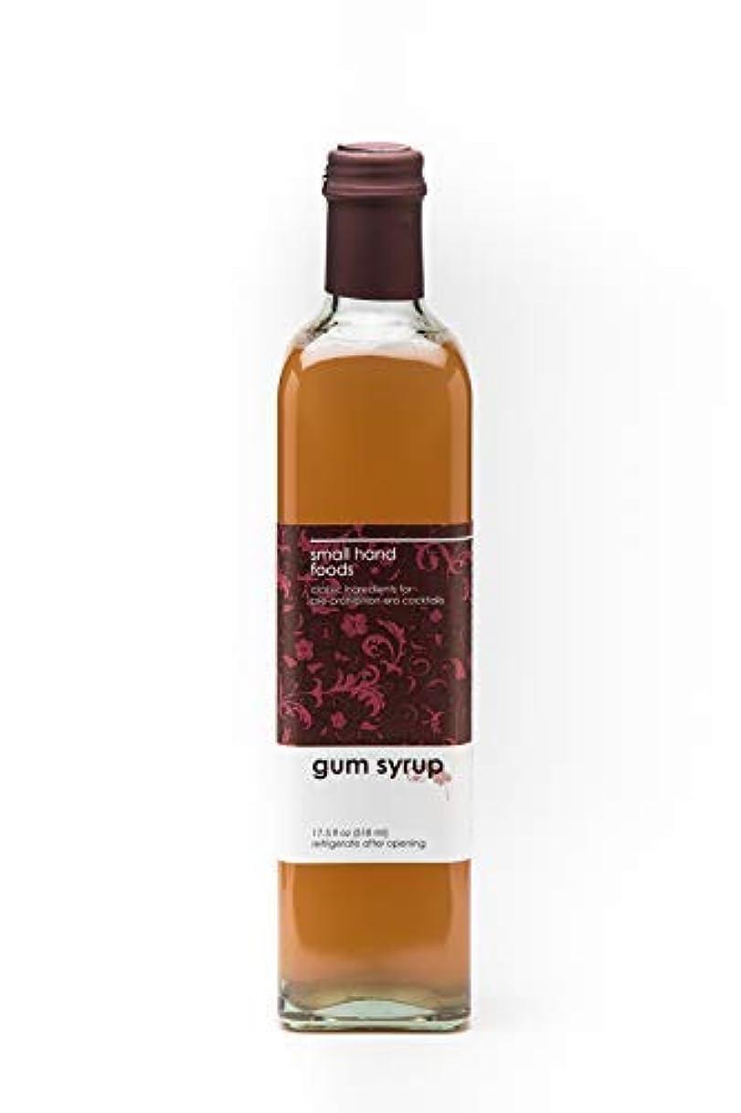 秘書検出する検出するSMALL HAND FOODS Gum Syrup 500 ml [並行輸入品]