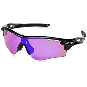 [オークリー] Oakley サングラス 0OO9206 メンズ Polished Black/Prizm Golf 日本 38-(Free サイズ)