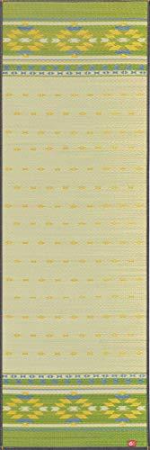 イケヒコ 国産い草使用 インストラクター公認 ヨガマット 「畳ヨガ」 約60×180cm アース GN 1枚