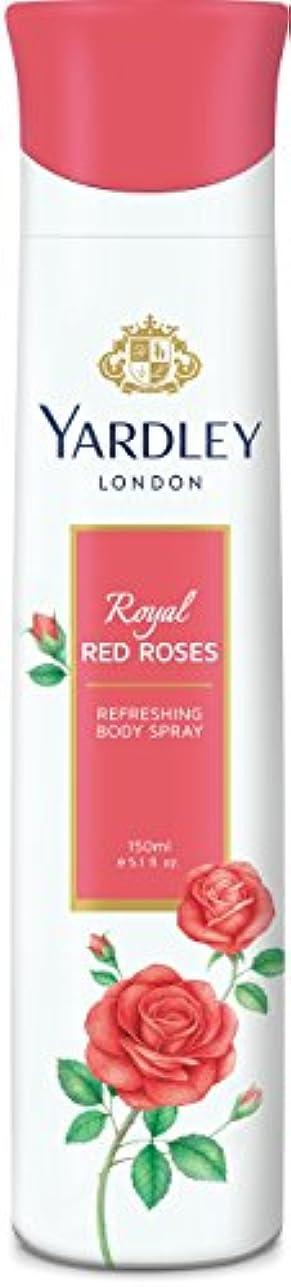 あたりクラシカル襲撃Yardley London Refreshing Body Spray Royal Red Roses 150ml