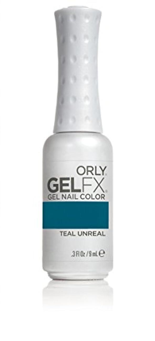 くさびおしゃれな評判Orly GelFX Gel Polish - Teal Unreal - 0.3oz / 9ml