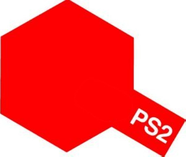 タミヤカラー スプレーカラー ポリカーボネート用スプレー塗料 PS-2 レッド
