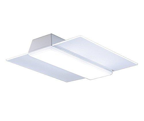 パナソニック LEDシーリングライト 角型パネル 調光・調色タイプ ~8畳 ...