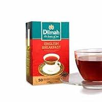 Dilmah 100% Pure Ceylon Tea, English Breakfast Tea, Foil Wrapped Tea Bags, 50 Count, 100g by Dilmah [並行輸入品]
