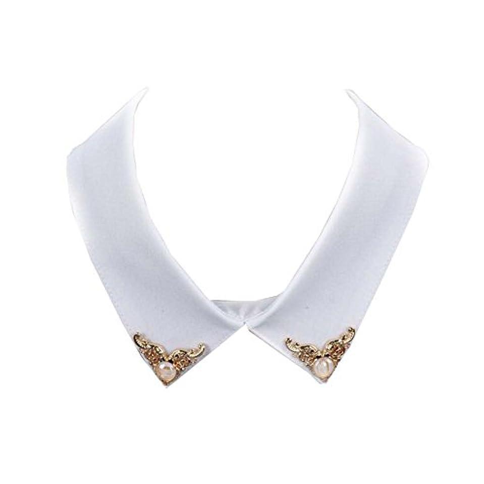 厄介な封建ビジターホワイトシャツフォールカラークラシックホワイトファッションシャツフォールカラー#9