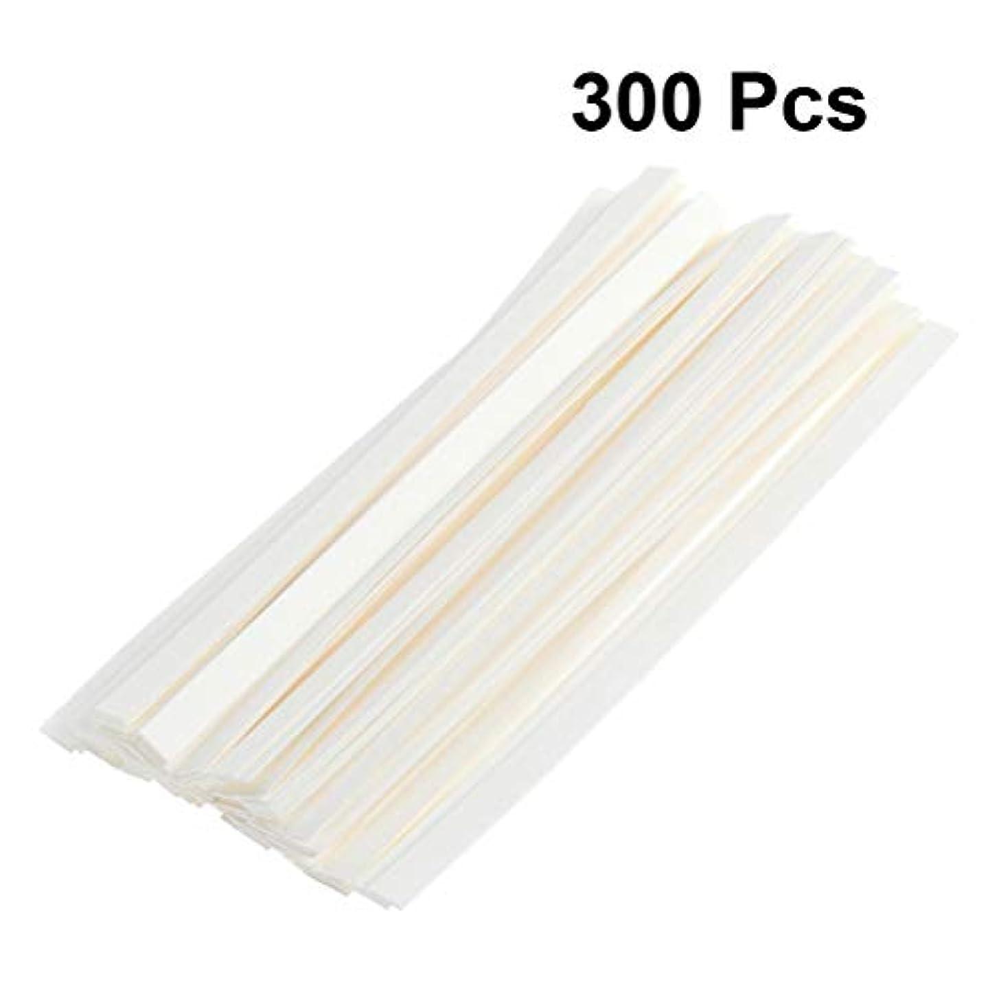 ランプ結び目ビーチSUPVOX 300ピース 香水ストリップ フレグランス エッセンシャルオイル テストストリップ 香水 試験紙 ストリップ