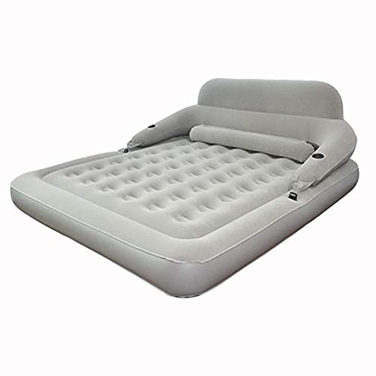 チーフ任命する兵隊世帯の単一の二重携帯用膨脹可能なベッド/屋外の厚く快適で膨脹可能なベッド/貯蔵の便利さ肌に優しい膨脹可能なベッド(色:B、サイズ:183 * 203 * 22CM)