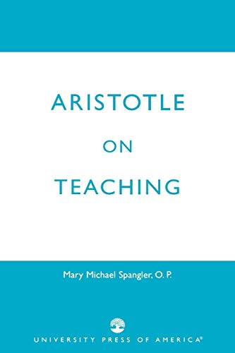 Download Aristotle on Teaching 0761812113