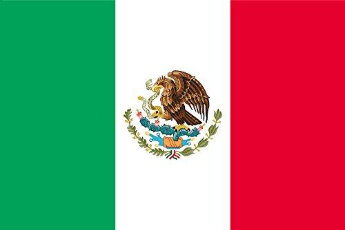 世界の国旗 メキシコ 国旗 [70×105cm 高級テトロン製]